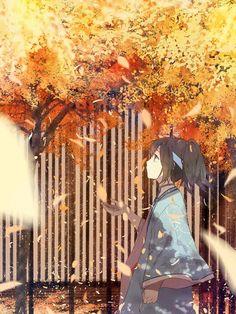 Cảnh mùa thu.