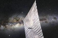 Graphene might make solar sails redundant <i>(Image: NASA</i>