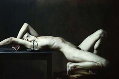 Drifting: The Haunting, Baroque-Style Nudes Of Olivier Valsecchi Embody Beauty And Despair