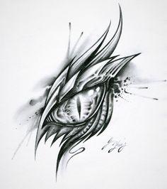 Ideas For Eye Sketch Dragon Dragon Eye Drawing, Easy Dragon Drawings, Realistic Eye Drawing, Dragon Sketch, Cool Art Drawings, Tattoo Drawings, Art Sketches, Wolf Eye Drawing, Simple Dragon Drawing