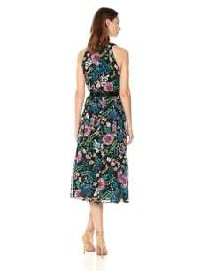 Tommy Hilfiger Womens Coin Toss Chiffon Long Dress Black/Multi 8 >>> Check this awesome product by going to the link at the image. (This is an affiliate link) Coin Toss, Tommy Hilfiger Women, Dress Black, Chiffon, Summer Dresses, Awesome, Link, Casual, Check