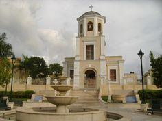 La iglesia de San Lorenzo, una de las iglesias más antiguas en la isla, si no la más antigua.