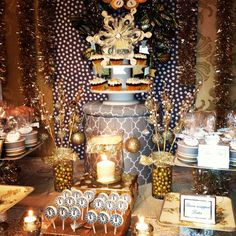 New Year's Party Ideas | Photo 1 of 19 | Catch My Party