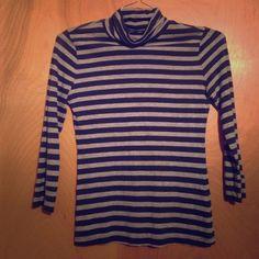 Banana Republic Striped Long Sleeve Shirt No stains/rips!! Banana Republic Tops