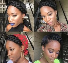 6 Inspiring Transitioning Natural Hair Journey Tips From Glamorous Twins. Teenage Hairstyles, Dance Hairstyles, My Hairstyle, Braided Hairstyles, Hairstyles Haircuts, Wedding Hairstyles, Hairstyle Tutorials, Wedding Updo, Braided Updo