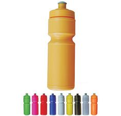 The Junior Premium Sports Bottle features a traditional look sports bottle, soft squeeze, with reliable no leak screw on lid and large area for your printed promotional branding, message or logo customised onto the promotional product