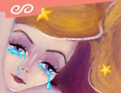 """@Behance projeme göz atın: """"Crying girl for Halep"""" https://www.behance.net/gallery/46392685/Crying-girl-for-Halep"""