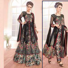 Punjabi Salwar Kameez Indian Pakistani Designer Skirt Suit Bollywood Party Dress