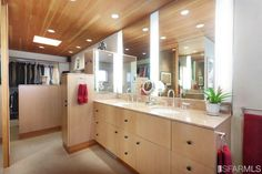 """Master bath in """"The Copper House"""" in Bernal Heights, San Francisco."""