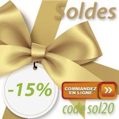 -15% avec le code sol20 exclusivement au 0251351094 ou sur le shop en ligne A saisir aujourd'hui !