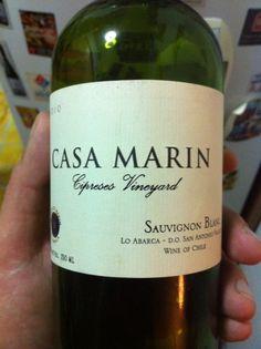 @VinaCasaMarin Cipreses Vineyard Sauvignon Blanc 2010, Lo Abarca, Valle de San Antonio