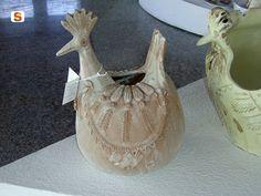 Ceramica artistica asseminese. Gallinella di Antonio Farci