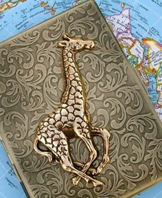 Giraffe wallet/cigarette case