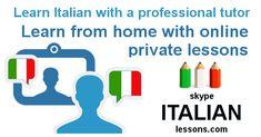 Learn Italian... where you want, when you want!