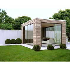 Building A Container Home, Container House Design, Rooftop Design, Backyard Cottage, Garden Deco, Modern Garden Design, Backyard Patio Designs, Facade Design, Backyard Landscaping