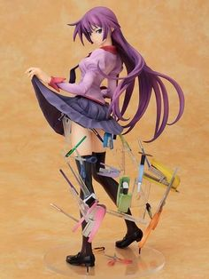Bakemonogatari: Hitagi Senjougahara 1/8 Scale PVC Figure | Yorokonde.de - Ihr Online-Shop für original Anime-Figuren und Modellbausätze aus Japan