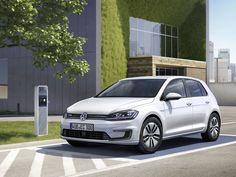 La e-Golf électrique, symbole du futur de Volkswagen - Challenges.fr