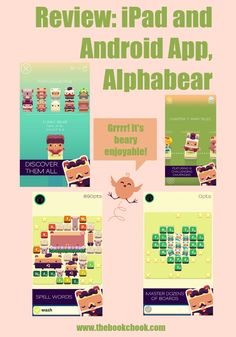 The Book Chook: Review: iPad and Android App, Alphabear