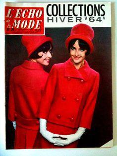 L'echo de la mode n° 36 du 8/09/1963