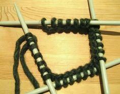 Spadtag - Knitting, Bracelets, Jewelry, Tejidos, Jewlery, Tricot, Bijoux, Cast On Knitting, Schmuck