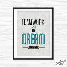 office teamwork quotes wall art printable success quotes motivational wall decor office wall quotes inspirational quote print for work - Office Wall Decor