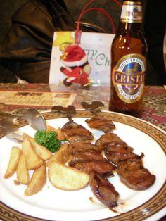 Mmmm... Peruvian Food :)