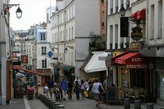 Rue Mouffetard, Paris   By 'bruvvaleeluv'