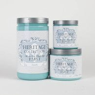 Heritage Collection All In One Chalk Style Paint Color: Amalfi (blue teal)
