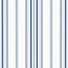 Morgan Stripe Sky Wallpaper by Ralph Lauren Wallpaper Wallpaper Free, Luxury Wallpaper, Wallpaper Online, Wallpaper Samples, Bathroom Wallpaper, Pattern Wallpaper, Blue And White Wallpaper, Striped Wallpaper, Discount Wallpaper