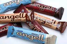 """Angell Candy Bars    Their candy bars might be a luxurious diversion, but the founders of Angell's take their civic responsibility seriously. All the company's candy bars are made in a wind-powered facility, and their packaging is made from recycled materials. The company is also a part of """"1% For The Planet,"""" which means they donate 1 percent of gross sales to local environmental organizations."""