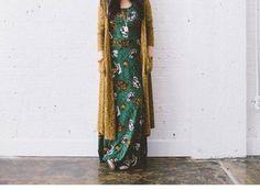 LuLaRoe Ana Dress/Sarah Cardigan