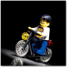 Riding bicycle (square) Lego Photo, Bicycle, Inspiration, Biblical Inspiration, Bike, Bicycle Kick, Bicycles, Inspirational, Inhalation