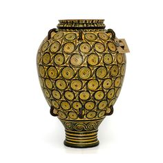 Take Greek history home! Hand made Greek vase from Minoan period. Visit our site www. Knossos Palace, Greek History, Minoan, Crete, Ancient Greek, Civilization, Vases, Period, Museum