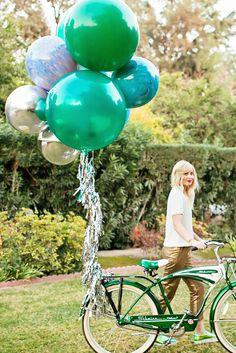 Balloon Set : Marble Blue #balloon-sets #frill-sale #new