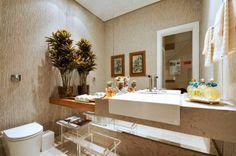 Decor Salteado - Blog de Decoração e Arquitetura : Banheiros claros: branco e bege – veja modelos modernos e dicas!