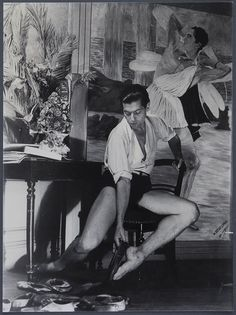 "russian-style: "" Serge Lifar, last great dancer of the Ballets Russes """