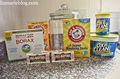 DIY laundry Soap |