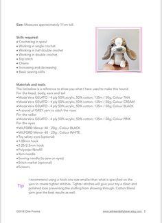 Images Attach C 10 108 994 Buzztmz - Diy Crafts Hound Puppies, Hound Dog, Crochet Chain, Cute Crochet, Crochet Dog Patterns, Yarn Dolls, Crochet Abbreviations, Doll Eyes, Sewing Basics