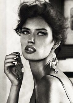 Bianca Balti by Giampaolo S|Dolce & Gabbana Jewelry 2011 Campaign