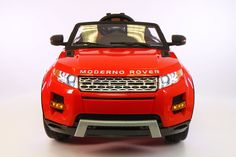 Range Rover Style 12V Kids Ride-On Car MP3 Battery Powered LED Wheels RC Remote | Bright Red