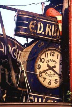 The Old Clock - Ellen Oxhorn