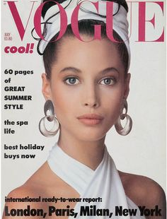 Cover - Best Cover Magazine  - Christy Turlington in Donna Karan on the cover of Vogue UK July 1986   Best Cover Magazine :     – Picture :     – Description  Christy Turlington in Donna Karan on the cover of Vogue UK July 1986  -Read More –