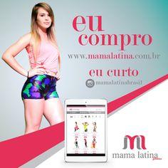 Quer conhecer as peças da Moda Fitness Mama Latina?  Visite o site e saiba mais sobre a nossa coleção! www.mamalatina.com.br  #MamaLatina #Eucompro #Eucurto #ModaFitness