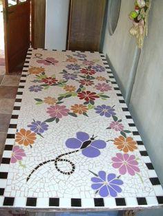 Mosaic Tray, Mosaic Tile Art, Mosaic Artwork, Mosaic Crafts, Mosaic Projects, Stone Mosaic, Mosaic Glass, Mosaics, Mosaic Flower Pots