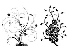 Cool Free Floral Swirls Brushes. Need more Floral Swirls Brushes? See the full pack here Give your project a feminine touch with these Free Floral Swirls Brushes courtesy of Eezy Premium. The flowers and swirls included in the high res free pack will help any design look more hand-drawn and unique. The Premium files on Brusheezy are always expertly-designed and come with a royalty-free license- that includes the 2 brushes in this free mini-pack!  #Branch #brush #classical #curve #elegant…