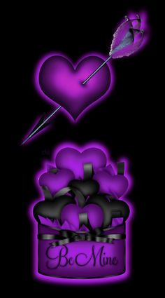 Boss Up Quotes, Heart Background, Shades Of Purple, Happy Valentines Day, Iphone Wallpaper, Hearts, Love You, Sparkle, Clip Art