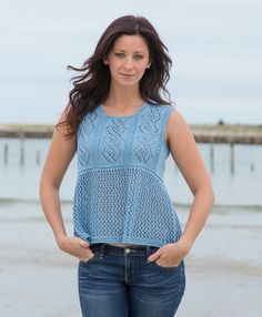 Ravelry: Abelona pattern by Kathy North. Knit in Cerro by Classic Elite Yarns.