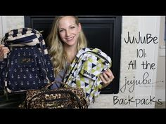 JuJuBe 101: All the Backpacks made by Ju-Ju-Be - Reviews and Overviews! - YouTube