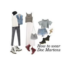 """""""how to wear doc martens""""  #DrMartens"""
