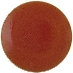 Jars Tourron Round Dish - Orange ($63) ❤ liked on Polyvore featuring home, kitchen & dining, serveware, orange, serving dish, orange serving dishes, serving dishes, orange dish and orange stoneware